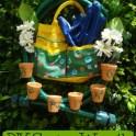 Make a Spring Time Garden Wreath