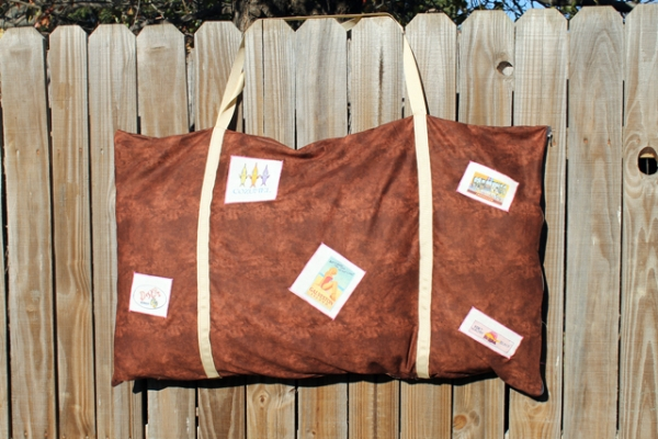 Suitcase Travel Pillowcase