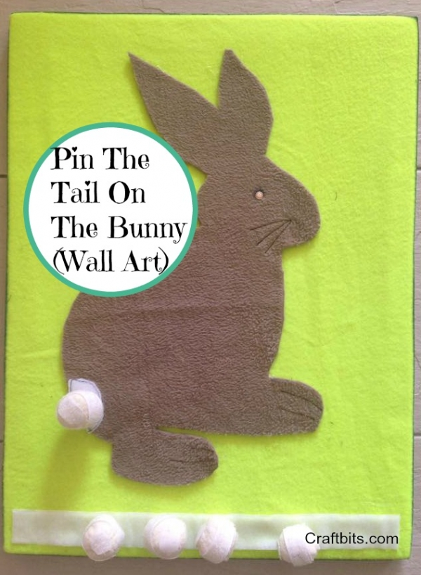 Easter Pin The Tail On The Bunny Game