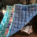 Recycled Denim Mat With Flannelette
