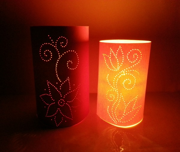 Moroccan Inspired Paper Luminaries