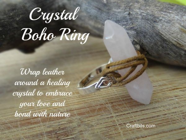 Make your own Crystal Bohemian Ring