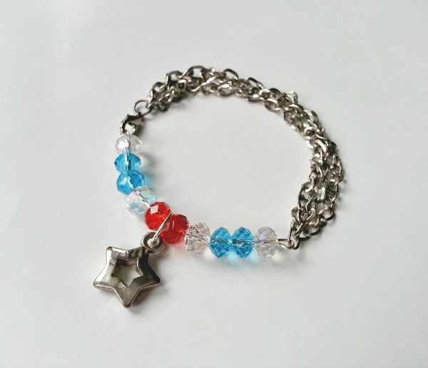 4th of July Inspired Bracelet