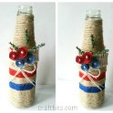 Make a Decorative 4th of July Vase