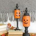 Mason Jar Craft: Pumpkin Candy Jars