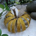 How To Make a Pumpkin With Toilet Paper Roll