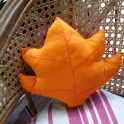 Make a Fall Leaf Pillow