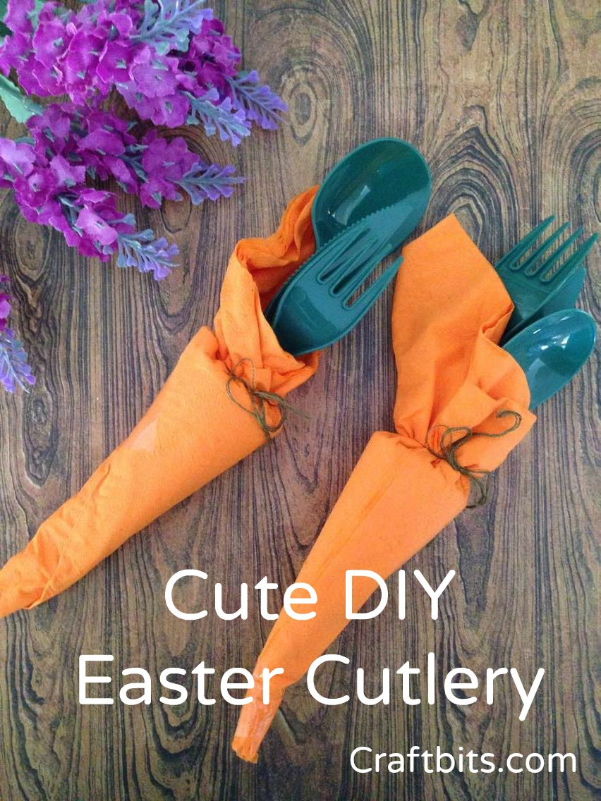 Cute Carrot Cutlery