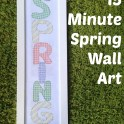 15 Minute Spring Wall Art