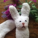 Hello Mr. Easter Sock Bunny!