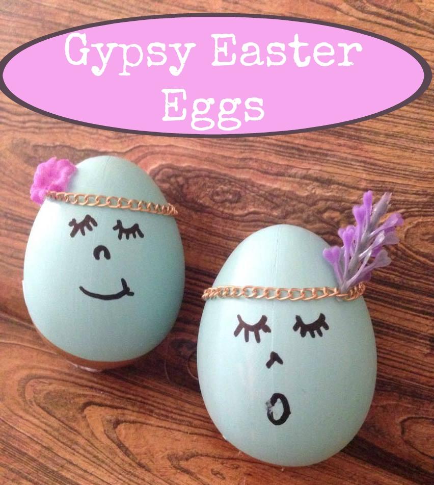 Choir Angel Gypsy Easter Eggs