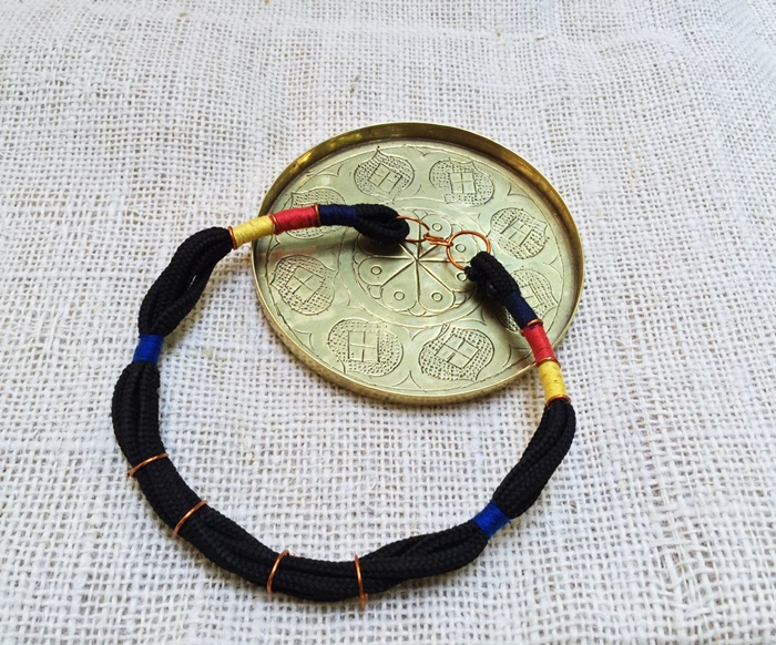 Wrapped Paracord Tribal Necklace