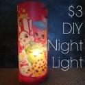 DIY Placemat Night Light