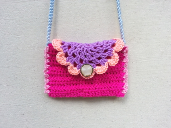 Crochet Doily Purse
