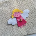 Tree Ornament - Cute Felt Angel