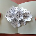 Pop Up Flower Card