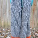 Knit a Fisherman's Rib Super Scarf