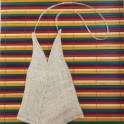 DIY Triangle Burlap Purse