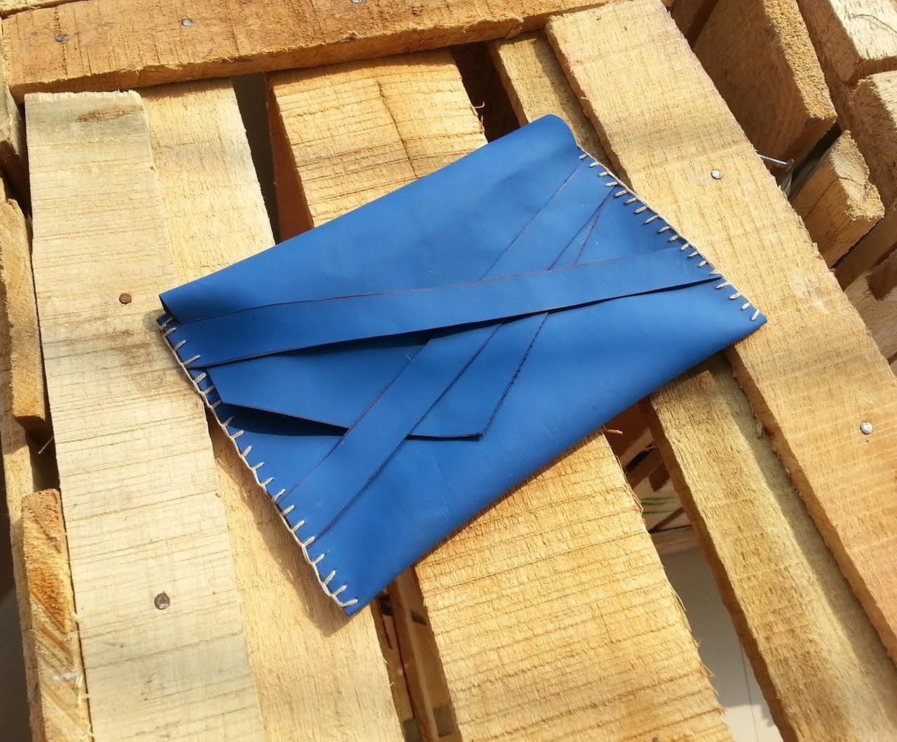 Make a Simple Leather Clutch