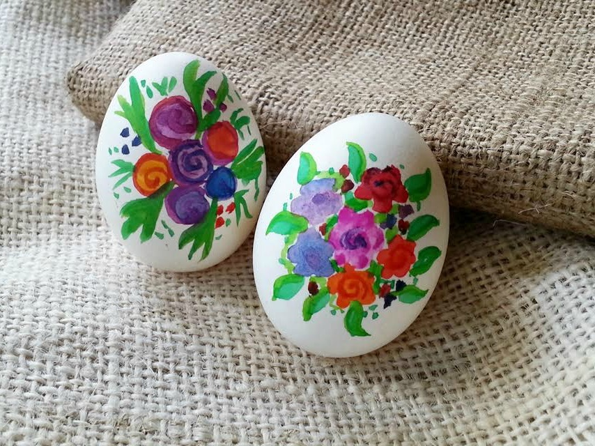 Watercolour Easter Eggs for Beginners