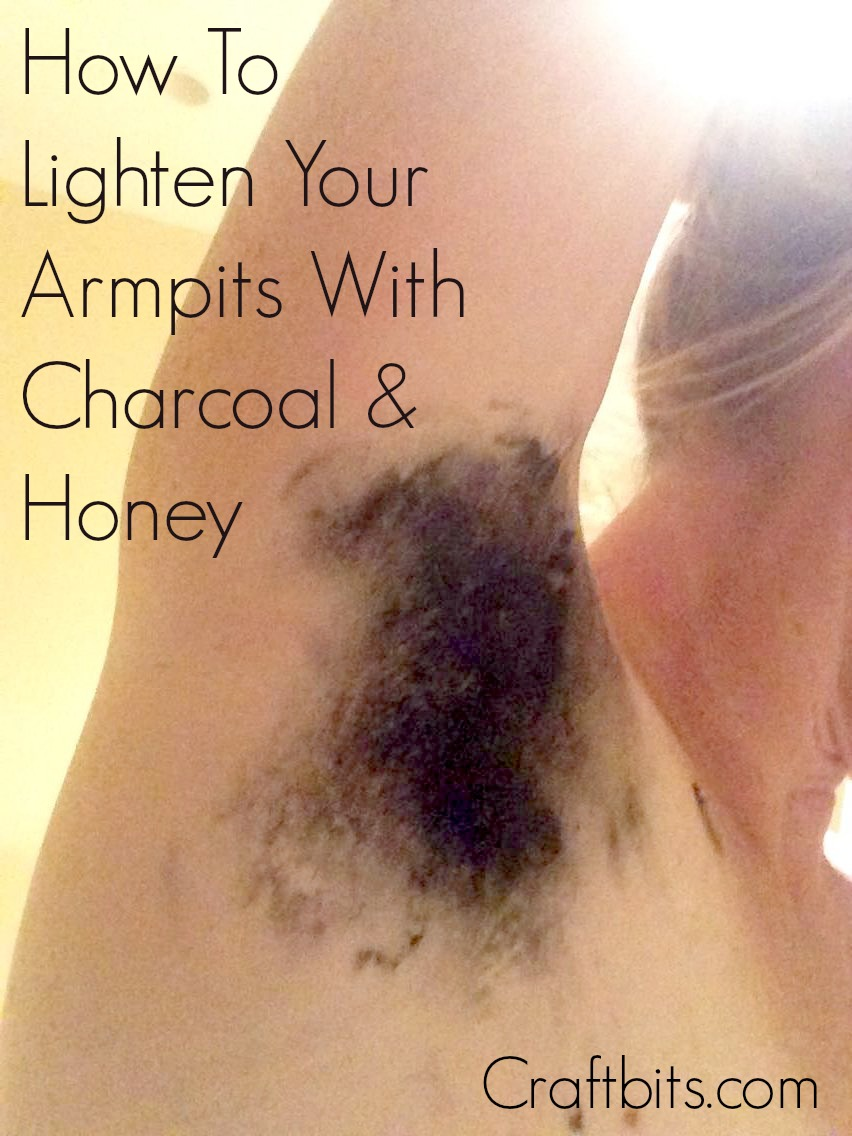 Activated Charcoal Underarm Bleach