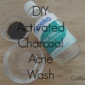 Activated Charcoal Acne Wash