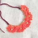 Crochet Pretty Scallop Pattern Necklace