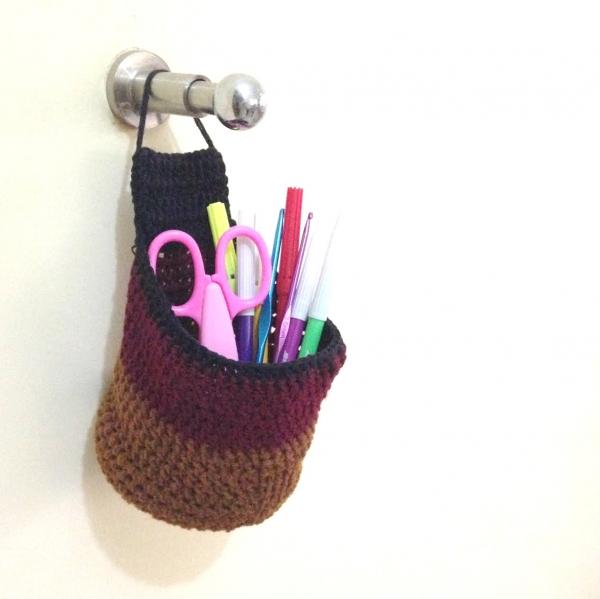 Crochet Hanging Pockets
