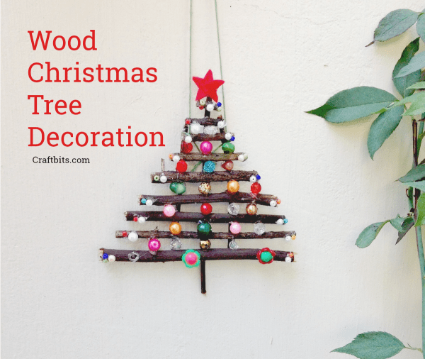 dry twig christmas tree decor