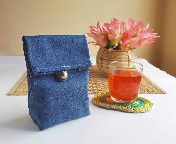 DIY Up-cycled Denim Lunch Tote