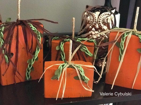 DIY Pumpkin Blocks