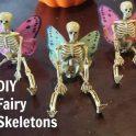 DIY Fairy Skeletons