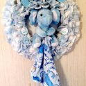 Baby Shower Wreath - Baby Boy