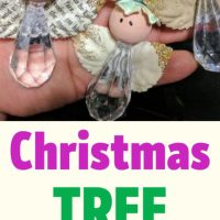 Christmas Tree Ornament - Bead Angel