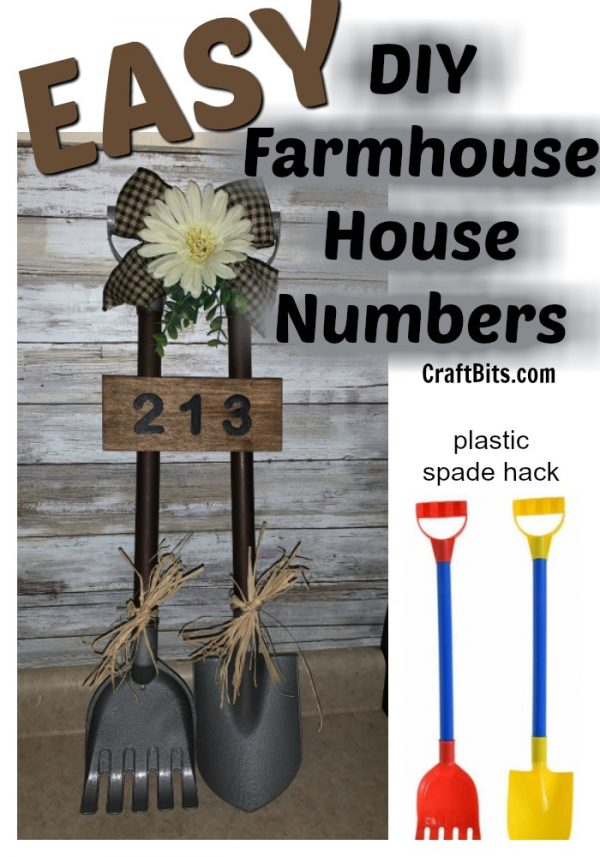 Dollartree Hack – Farmhouse Porch Numbers