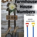 Dollartree Hack - Farmhouse Porch Numbers