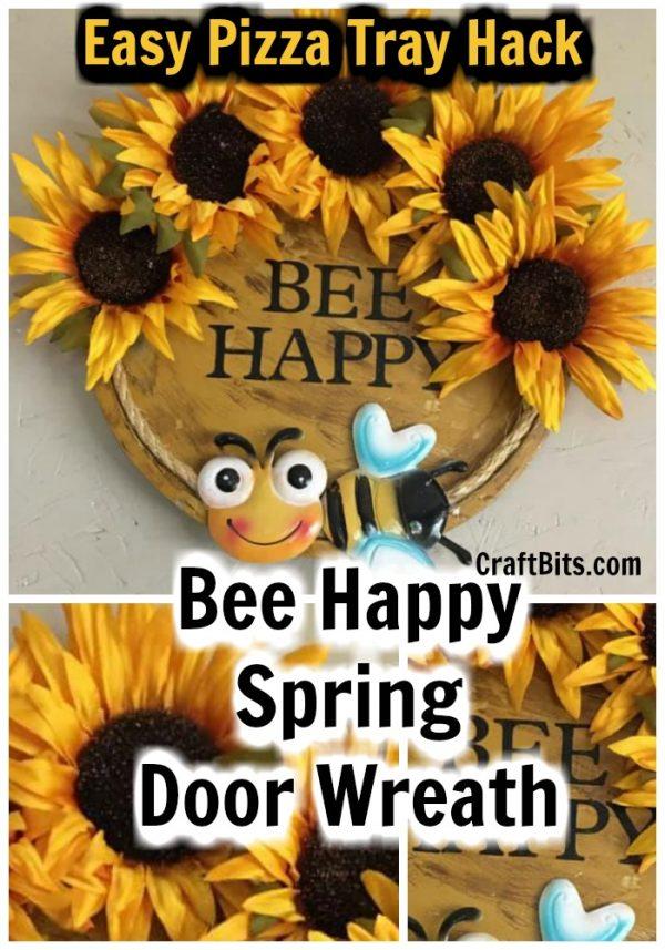 Bumble Bee Springtime Wreath