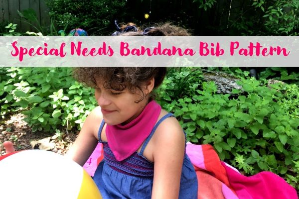 Custom Special Needs Bib Bib for Special Needs Children Your Choice of Fabrics Bib for Big Kids Made to Order Bib