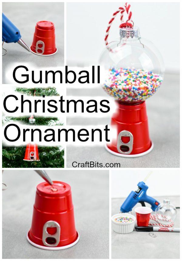 Gumball Christmas Tree Ornament