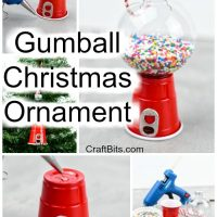 Gumball Christmas Tree Ornament