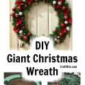 36 inch Giant Pool Noodle Christmas Wreath