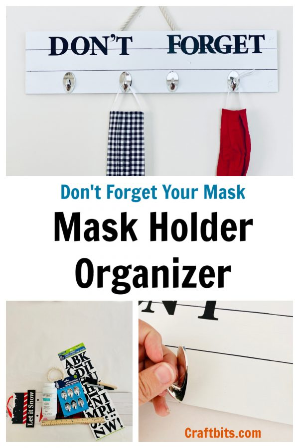 Dollar Tree –  Don't Forget Your Mask Wall Art