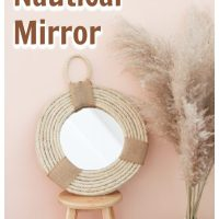 DIY Nautical Hamptons Mirror