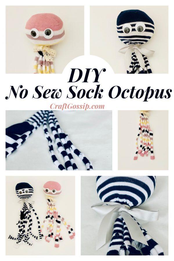 No Sew Sock Octopus