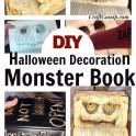 Halloween Monster Book