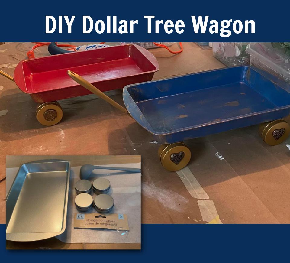 Dollar Tree – Oven Tray Wagons