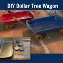 Dollar Tree - Oven Tray Wagons