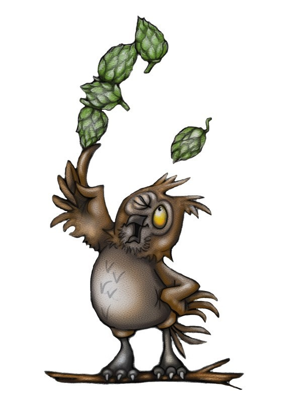 Wild Clover Brewery - Ollie the Hops Owl?