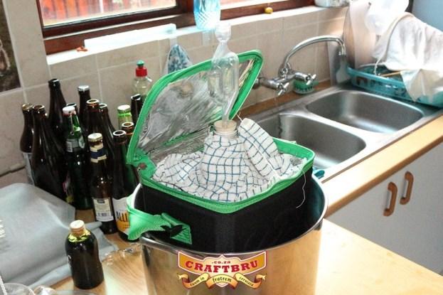 All Grain Brew #2: Snug Fermenter