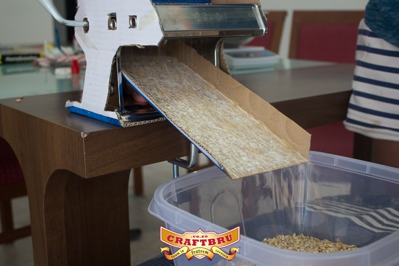 Crush your grain like a pro. Almost.